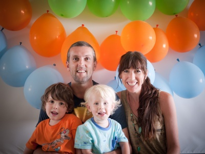 Most recent family photo - celebrating Judah's birthday a few weeks ago.