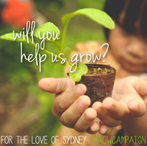 partner in the planting—will you help us grow?