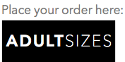 Order adult sizes
