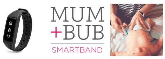 Mum-Bub-Smartband